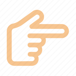 finger, gesture, hand, interaction, right, show icon icon
