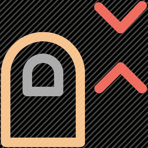 doble, down, finger, scale, tap icon icon