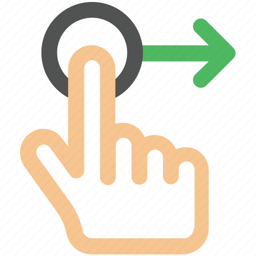 arrow, creative, direction, drag, drag-right, finger, fingers, gesture, grid, hand, interaction, line, move, right, shape, slide, swipe, touch, touch-gestures, work icon icon