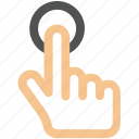 interaction, tap, double, fingers, creative, access, press, shape, grid, finger, hand, touch, gesture, line, work icon, touch-gestures, click, select