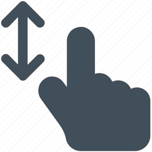 arrow, arrows, bottom, creative, direction, down, finger, fingers, gesture, grid, hand, interaction, line, move, scroll, shape, slide, swipe, top, touch, touch-gestures, two, two-fingers-scroll, up, work icon icon icon