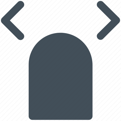 double, finger, left, right, slide, tap icon icon icon