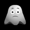 cat, emoji, emoticon, face, ghost, kitten, smile, smiley icon