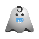 baby, emoji, emoticon, ghost, kid, newborn, smiley, toddler icon