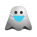 emoji, emoticon, expressions, ghost, mask, medical, smiley icon