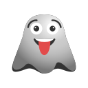 crazy, emoji, emoticon, face, ghost, naughty, smiley icon
