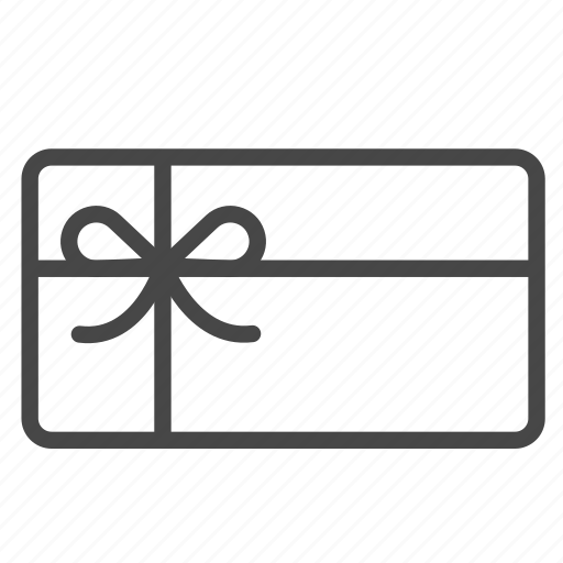 box, gift, gift card, present, reward, shopping, voucher icon