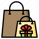 bags, gift, box, bow, present