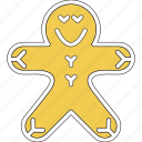 cakes, christmas, cookie, gingerbread, xmas icon