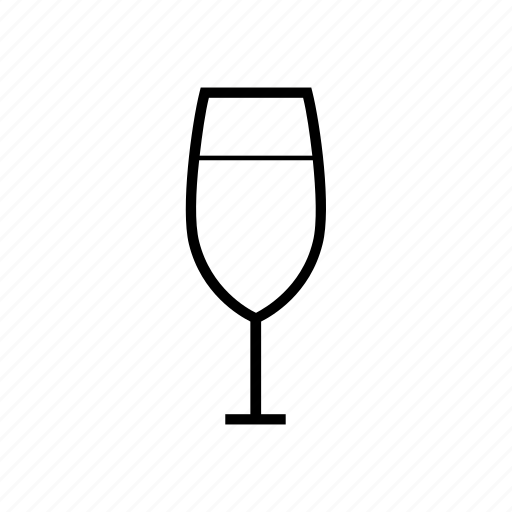alcohol, birthday, champagne, drink, drinks, glass cup, party, restaurant, stemware, water, wine glass icon