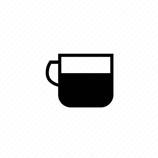coffee, cup, drink, glass cup, hot, kitchen, rea, tea icon