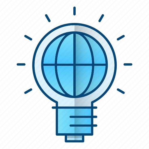 global business, ideas, international, solution icon