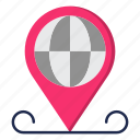global, global business, gps, location, map, navigation, travel icon