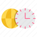 appointment, clock, global business, schedule, time, zones icon