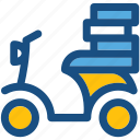 cargo bike, delivery bike, scooter, transport, courier service