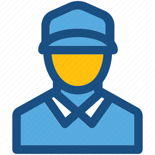 courier service, delivery boy, man, person, postman icon