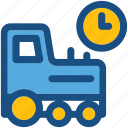 cargo, clock, delivery time, logistics, shipping time
