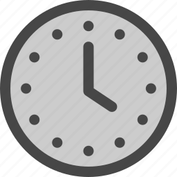 clock, hour, minute, time, timer, watch icon