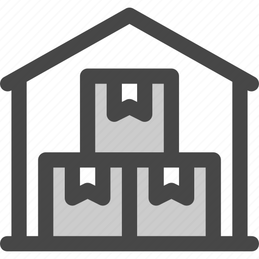delivery, logistics, mail, packages, shipping, storage, warehouse icon