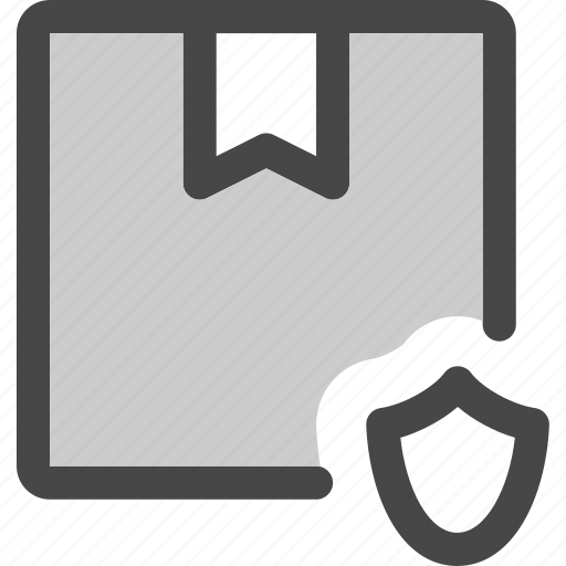 delivery, mail, package, protected, secure, shipment, shipping icon