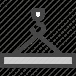 cargo, crane, harbor, logistics, port, product, shipping icon
