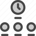 clocks, hours, time, timers, world, zones icon