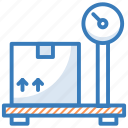 digital scale, industrial scale, mechanical scale, platform scale, weight scale icon