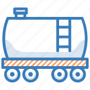 fuel truck, oil tanker, tanker, water delivery, water tanker icon