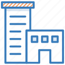 building, office block, real estate, skyline, skyscraper icon