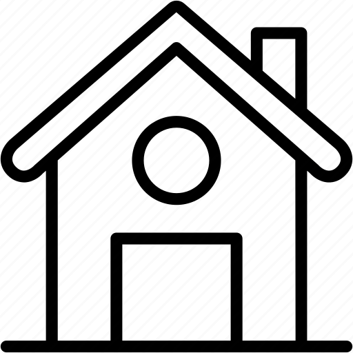 apartment, estatete, home, house, hut, place, real icon