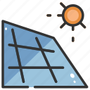alternative, cell, energy, panel, power, solar, sun icon