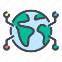 globe, world, planet, worldwide, network, connection, connect
