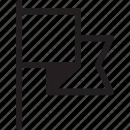 bookmark, flag, interface, ui, user interface, ux, web icon