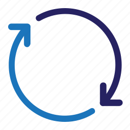 arrow, interface, refresh, ui, user interface, ux, web icon