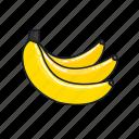 bananas, food, fruit, healthy, juice, organic, smoothie