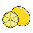 food, fruit, healthy, juice, lemon, organic, smoothie icon