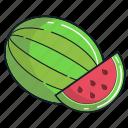 food, fruit, healthy, juice, organic, smoothie, watermelon icon