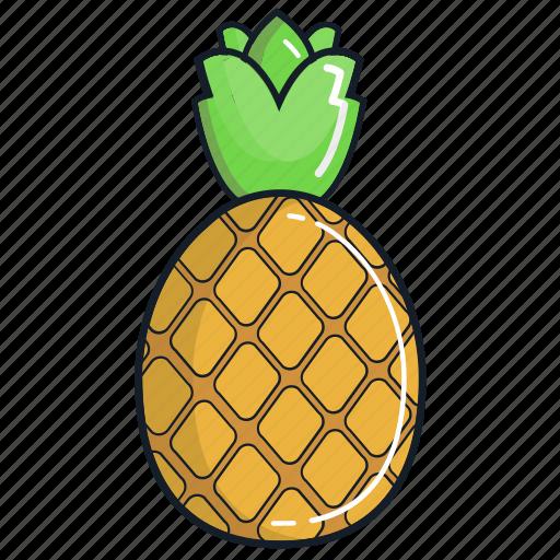 food, fruit, healthy, juice, organic, pineapple, smoothie icon