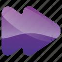arrow, arrows, audio, fast, forward, media, multimedia, music, scan icon