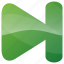 arrow, audio, foeward, forward, media, multimedia, music, next, play, player icon
