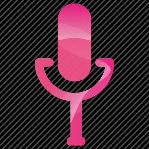 audio, media, microphone, multimedia, music, recorder icon
