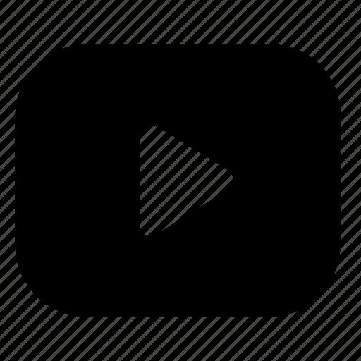 media, movie, play, video icon