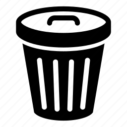 bin, can, eco, garbage, recycle, remove, trash icon