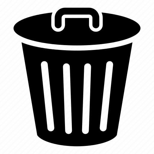 bin, delete, garbage, recycle bin, remove, trash icon