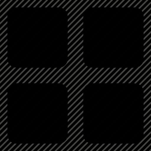 apps, grids, menu, options, views icon
