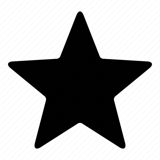 bookmark, famous, favorite, featured, important, rating, star icon