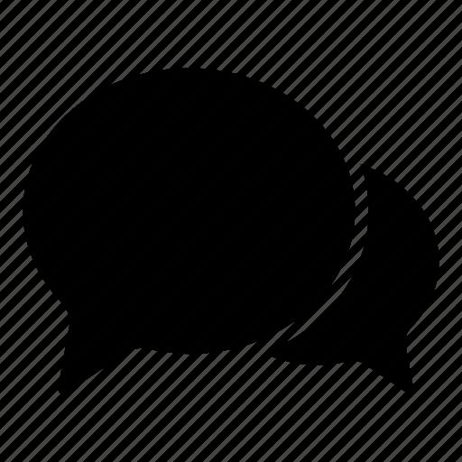 bubbles, chatting, comment, conversation, social, talk icon