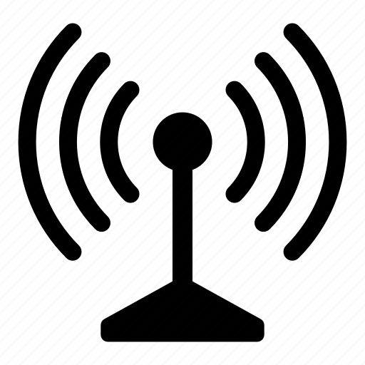 antenna, connection, internet, signal, wifi, wireless icon