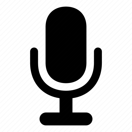 mic, microphone, voice, volume icon