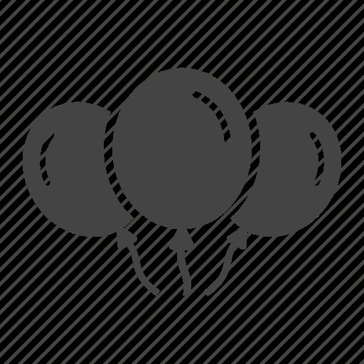 baby, ballons, balloon, balloons, party, ribbon, xmas icon